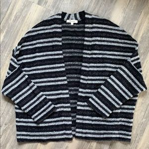 Madewell Striped Open Front Cardigan XS/S